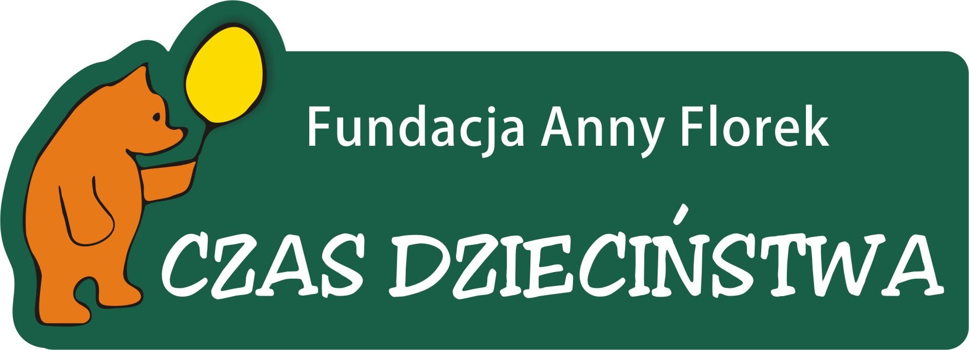 Logo Fundacji Anny Florek CZAS DZIECIŃSTWA