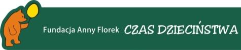 Fundacja Anny Florek CZAS DZIECIŃSTWA Logo