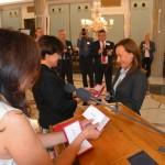 Wręczenie Medalu Komisji Edukacji Narodowej Annie Gromadzkiej.