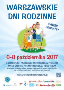 Plakat Warszawskich Dni Rodzinnych