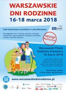 Zaproszenie na Warszawskie dni rodzinne