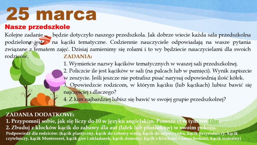 Zadanie 6 (25 marca)