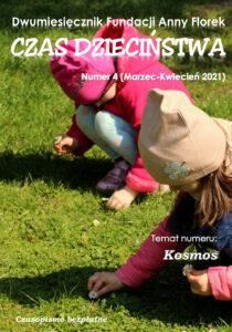 Okładka czasopisma CZAS DZIECIŃSTWA 4/2021