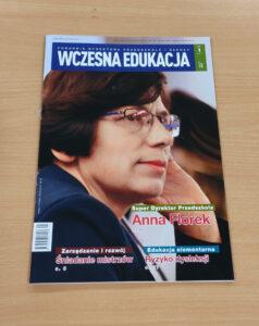 Okładka czasopisma Wczesna Edukacja 1/2021