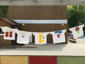 Zajecia - Malowanie koszulek