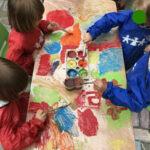Zajęcia - malowanie