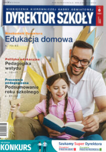 Okładka czasopisma Dyrektor Szkoły 6/2021